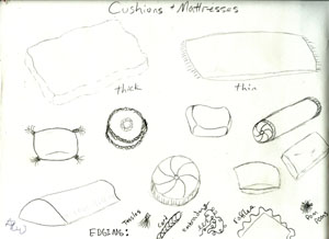 Cushions and Mattresses